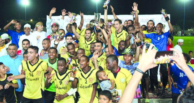 السـويق بطلاً لدورة فريق الثـرمد الثانية عشـرة