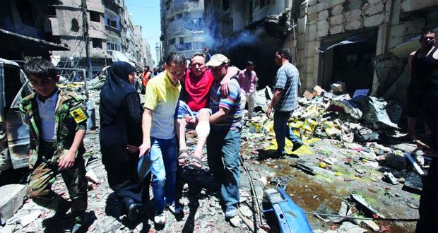 الجيش السوري يتقدم إلى مطار الطبقة .. والإرهابيون يفخخون الأطفال