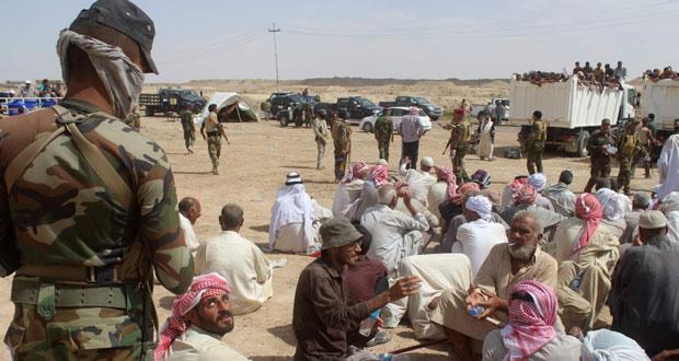القوات العراقية تدخل (الشهداء) والآلاف يفرون من الفلوجة