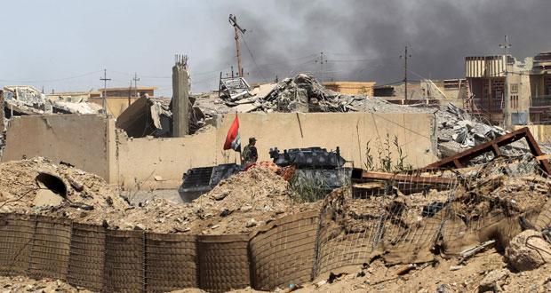 العراق: الجيش يصل وسط الفلوجة و(الأطلسي) يدرب ضباطه