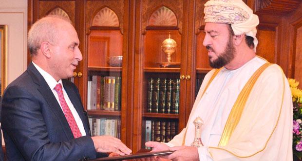 رسالة لجلالة السلطان من رئيس وزراء العراق