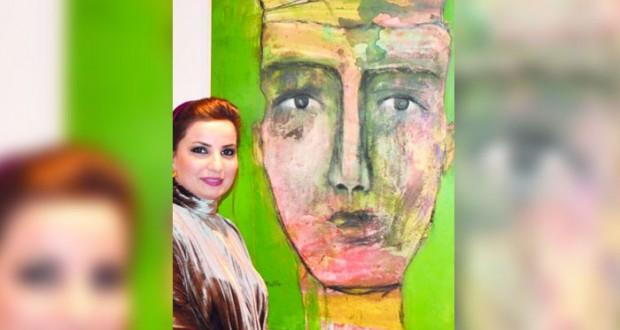"""عالية الفارسية تمثل السلطنة بالملتقى الدولي """"روح الفنون تنادي العالم"""" في المغرب"""
