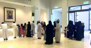 المئات يطلعون على مقتنيات المتحف الوطني