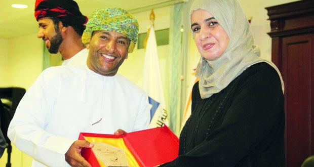 اختتام المسابقة الثقافية لحملة (مبدعو عمان)