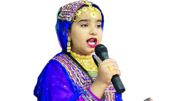 عزة الحارثية تؤدي «غيمة أفراح» بمناسبة العيد