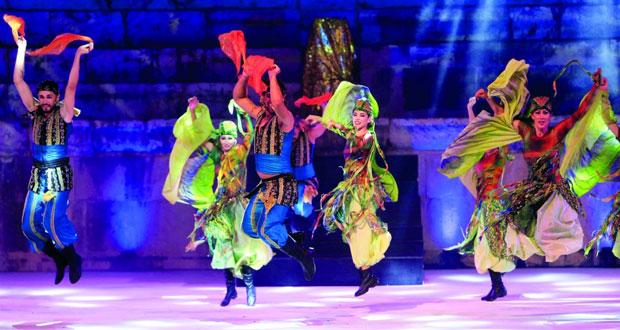 انطلاق مهرجانات الصيف اللبنانية من صور بعرض مسرحي سوري راقص