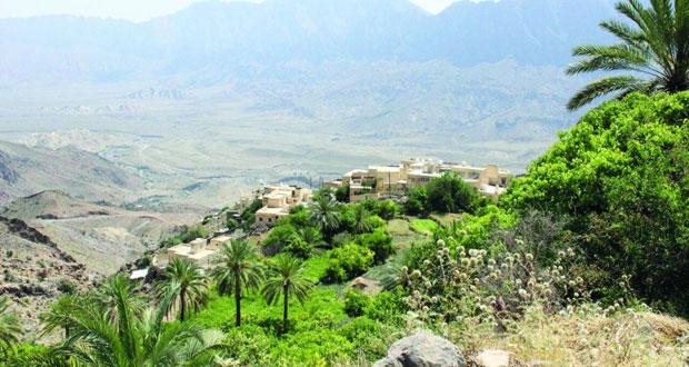"""""""وكان"""" بوادي مستل .. تميز في التنوع الجغرافي والمعالم السياحية الفريدة والمحاصيل الزراعية المتنوعة"""