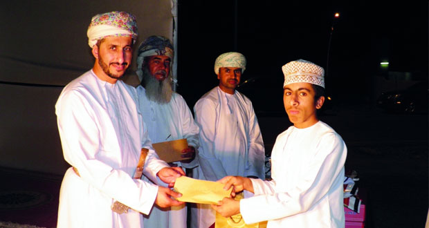 ختام مسابقة حفظ القرآن الكريم بقرية العقيبة بنخل