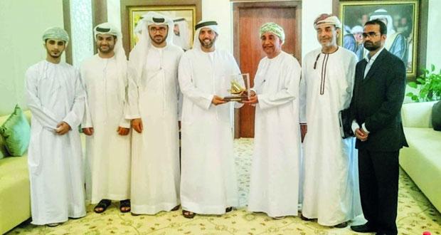 """""""الوطنية للعبارات"""" وميناء راشد يناقشان التفاصيل الفنية حول افتتاح خط خصب ـ دبي"""