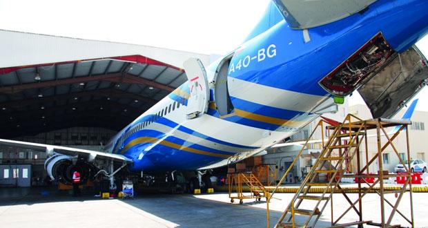 الطيران العُماني يثبِّت بنجاح نظام عمليات صيانة الطائرات «آموس»