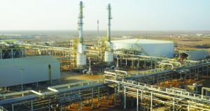 62.4 مليون متر مكعب يومياً استخدامات المشاريع الصناعية للغاز الطبيعي الشهر الماضي