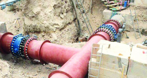 الهيئة العامة للكهرباء والمياه تنهي تنفيذ مشاريعها الاستراتيجية بشبكة مياه العامرات
