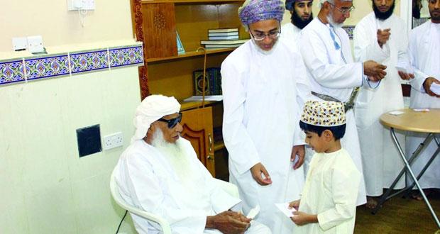 ختام مسابقة حارة خليفة لحفظ القرآن الكريم ببهلاء