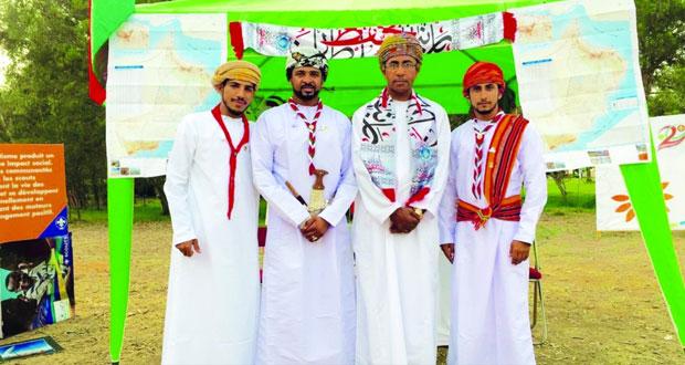 جوالة السلطنة يحتفلون بيوم النهضة المباركة بالمغرب