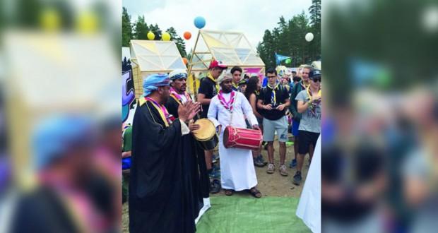 كشافة السلطنة يواصلون احتفالهم بيوم النهضة في المخيم الدولي بفنلندا