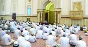 «زكاة الفطر» محاضرة بجامع السلطان قابوس بنخل
