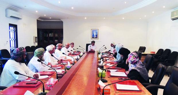 اجتماع اللجنة الصحية بمطرح