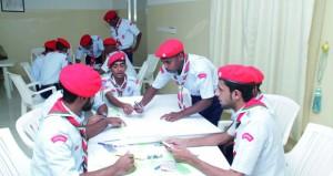 بدء فعاليات البرنامج التدريبي لدورة قادة المستقبل