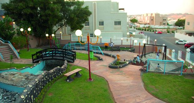 الحدائق العامة .. مكان مثالي للتجمع العائلي خلال العيد