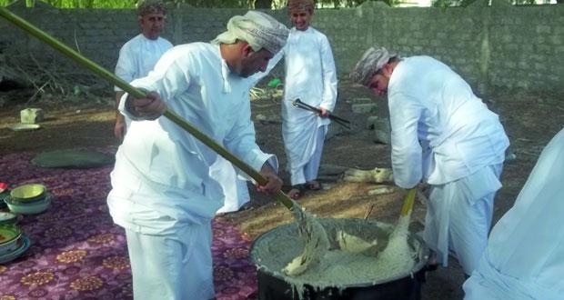 تعدد مظاهر عيد الفطر بالمصنعة