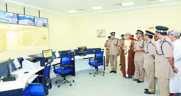 افتتاح مركز شرطة أمن ميناء صحار بمحافظة شمال الباطنة