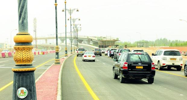 بلدية ظفار تفتتح جسر أم الغوارف المزدوج