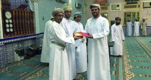 اختتام فعاليات مسابقة القرآن الكريم بمنطقة سور بني خزيمة بشناص