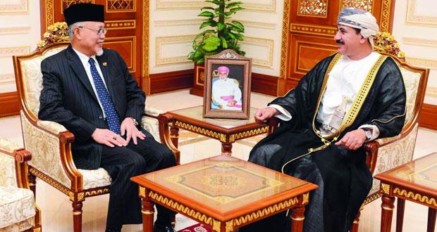 وزير المكتب السلطاني يستقبل سفير بروناي دار السلام