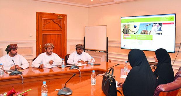 مجلس المناقصات يستضيف عدداً من موظفي جامعة السلطان قابوس