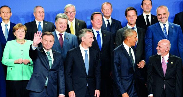 قادة الناتو يشاركون في قمة (تاريخية) في ظل توترات مع روسيا
