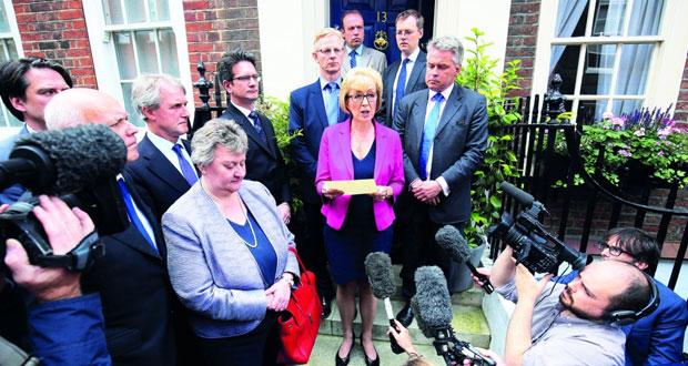 بريطانيا: ماي المرشحة الوحيدة لرئاسة الحكومة تلتزم بقرار الخروج من (الأوروبي)