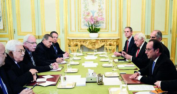 فرنسا تدعو لاعادة تحديد أفق سياسي لعملية السلام