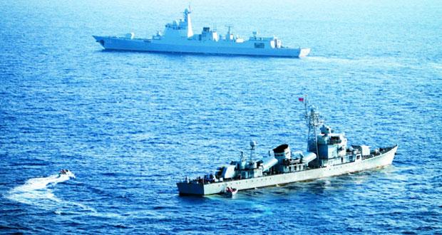 مناورات صينية ــ روسية في بحر الصين الجنوبي