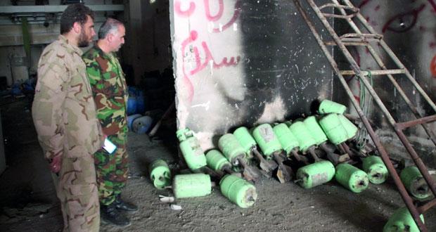 الجيش السوري يدمر أوكارا للارهابيين بدير الزور وريف تدمر