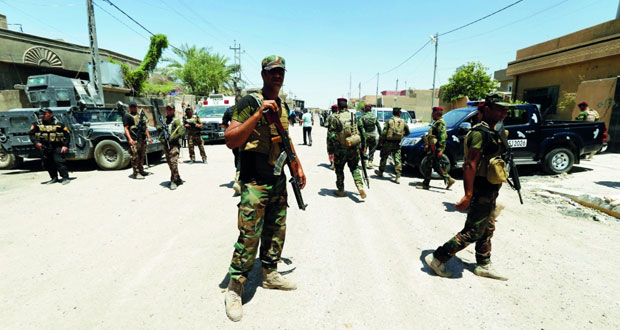 الجيش العراقي يبدأ عملية تحرير (الخالدية) والتحالف يؤكد مقتل اثنين من كبار قادة (داعش) العسكريين