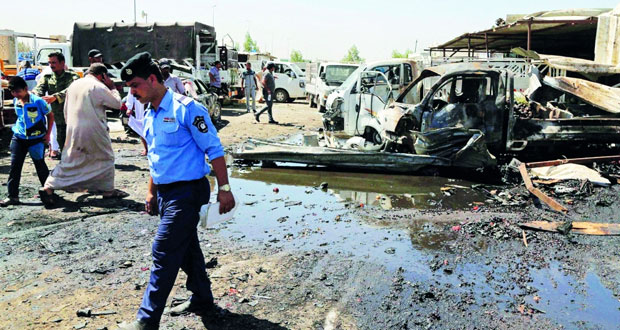 القوات العراقية تتقدم بمعركة الموصل وتلقي منشورات تحذيرية على السكان