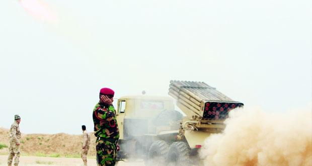 القوات العراقية تقضي على (دواعش) بالأنبار والتحالف يعد لضربة منسقة بالموصل
