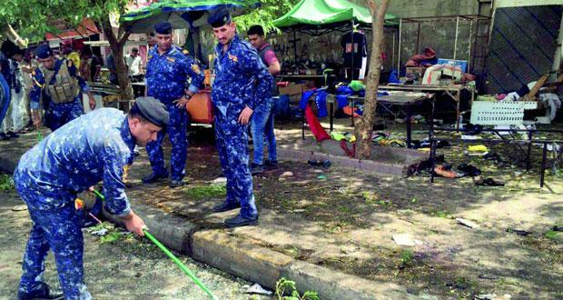 العراق: 15 قتيلا في (انتحاري) بالعاصمة وداعش يتبنى