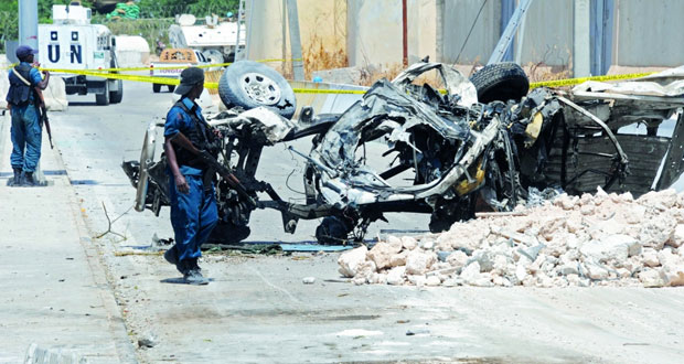 الصومال : قتلى في هجوم لـ(الشباب) قرب مطار مقديشو