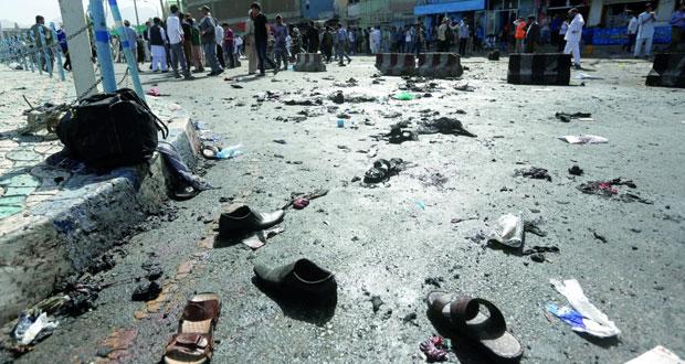 أفغانستان : مئات القتلى والجرحى في هجوم (داعش) استهدف تظاهرة للهزارة في كابول