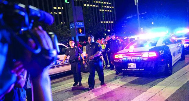 أميركا: مقتل 12 ضابطا ومدنيين في هجوم مسلح على دالاس