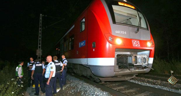 ألمانيا: هجوم بـ«الفأس والسكين» على ركاب قطار .. و«داعش» يتبنى