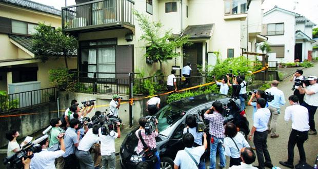 الشرطة اليابانية تداهم منزل منفذ عملية الطعن الجماعي