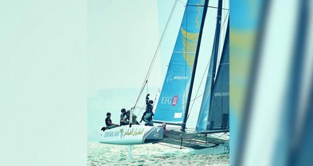 اليوم .. قارب الطيران العُماني جاهز للمنافسة في سباق هامبورج