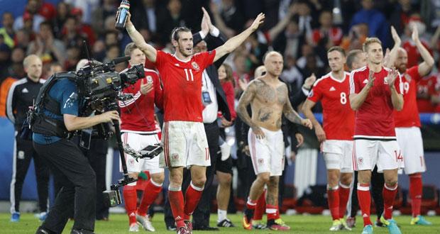فى كأس امم اوروبا 2016: ويلز تفجر اقوى المفاجات وتبلغ نصف النهائي على حساب بلجيكا