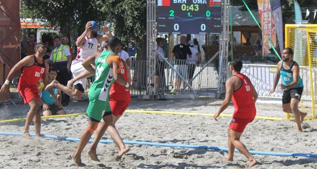 في مونديال اليد الشاطئية..منتخبنا يكسب أميركا ومصر ويلعب على المركز السابع لتحديد ترتيبه النهائي