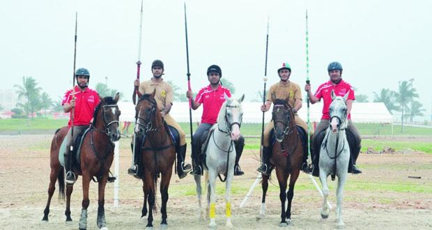 انطلاق البطولة الخليجية لالتقاط الأوتاد