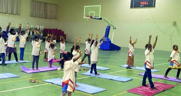 دائرة الشؤون الرياضية بشمال الشرقية تنظم فعاليات القافلة الرياضية النسائية