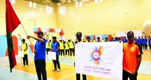 افتتاح معسكر شباب الأندية بولاية صور بمحافظة جنوب الشرقية 2016