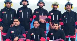 فريق الطيران الشراعي العماني يتوج مسيرة مظفرة من النتائج والإنجازات الكبيرة